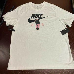 Nike Air CU1932-100 Crew Neck Pullover T Shirt XXL
